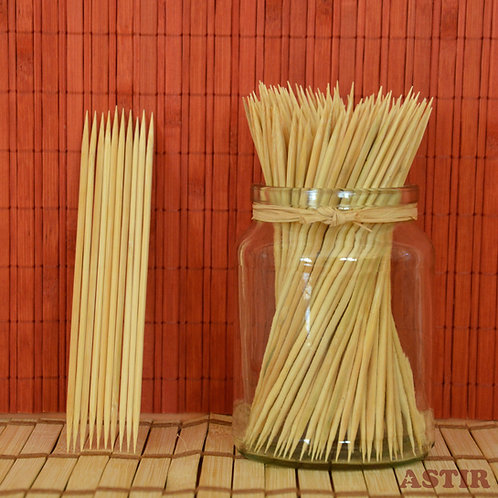 150 x 3 mm, Bamboo Skewers, Two Points