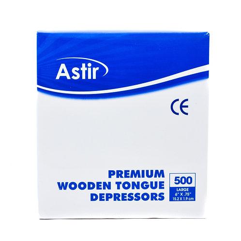 Wooden Tongue Depressors -  500 pieces/box