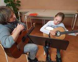 kitara Ažbe - občutek