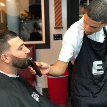 Freshieee Friday with my wolves 💈 Work