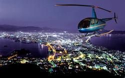 北海道ヘリ観光