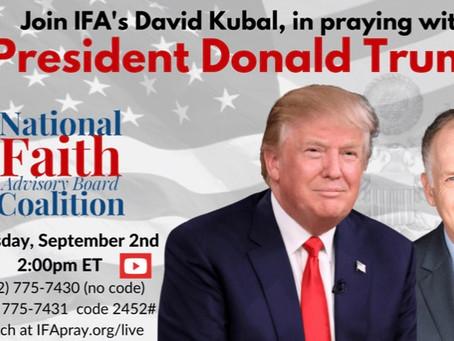 Pray with President Trump!
