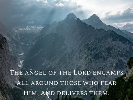 Angels come.