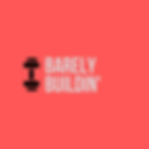 Black and Orange Barbell Sports Logo (1)