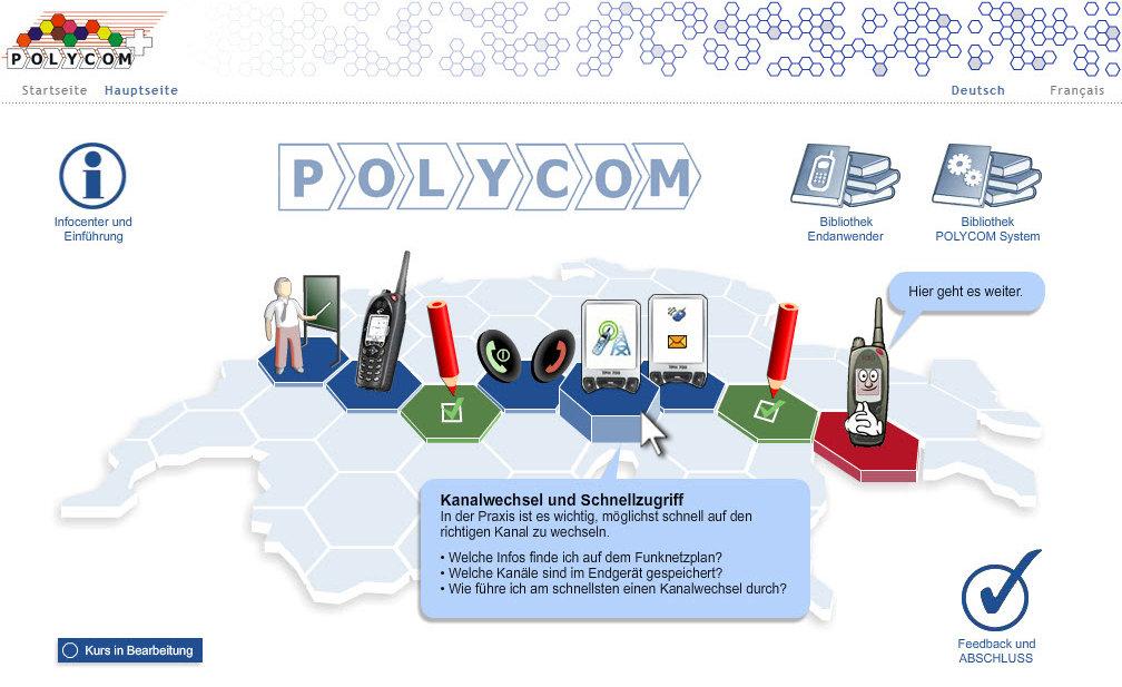 """Training """"Polycom Funk"""" für Blaulicht-Organisationen"""