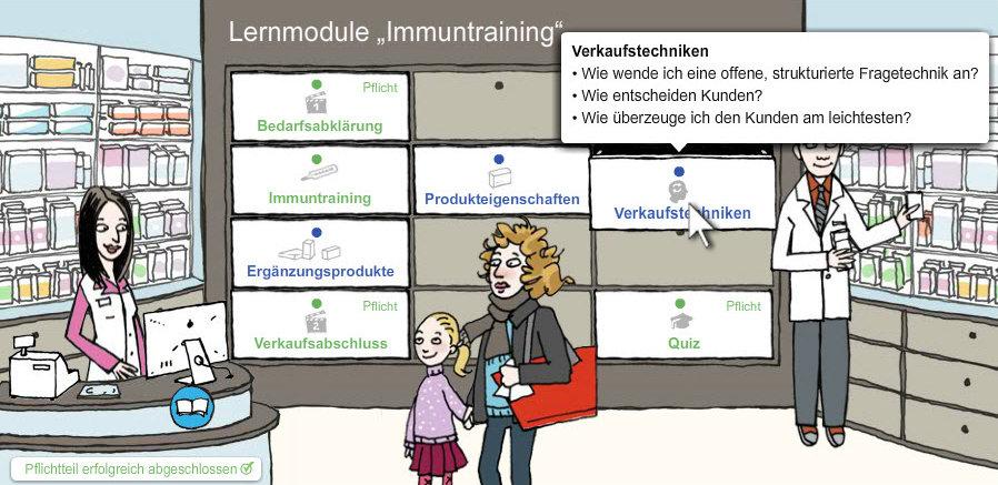 """Training """"Grippe Erkrankung"""" für Pharma Assistentinnen"""