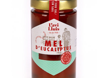 """1/2 kg. Eucalyptus honing """"Mel de l'avi Lluís"""""""