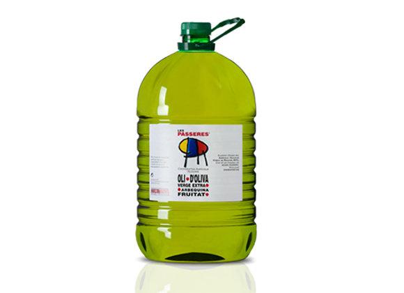 5 L. Olijfolie Arbequina (Nieuwe oogst 2020)