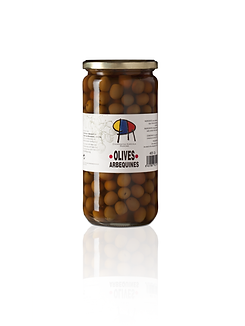 Arbequina olijven 440 gr.
