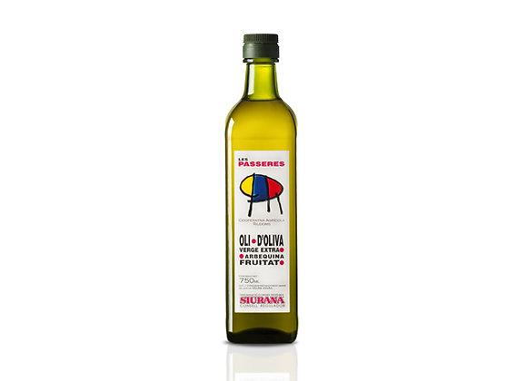 750 ml. Olijfolie Arbequina  (Nieuwe oogst 2020)