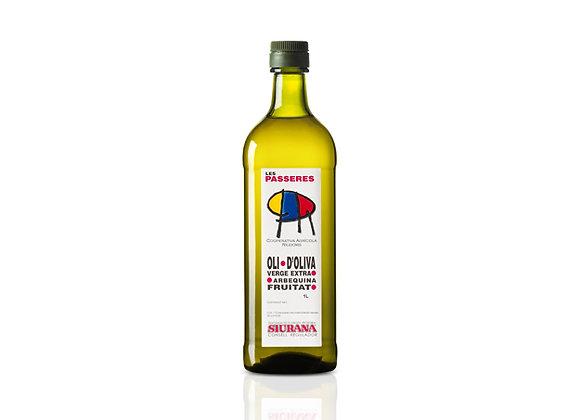 1 L.Olijfolie Arbequina  (Nieuwe oogst 2020)