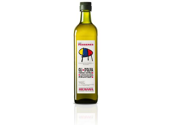 1/2 L. Olijfolie Arbequina (Nieuwe oogst 2020)