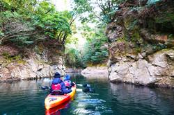Kayaking in Kikuchi