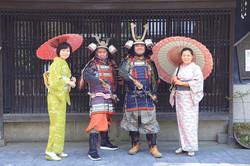 Be a Samurai in Kumamoto