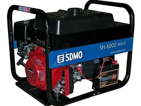 Бензиновый генератор мощностью 6кВт SDMO SH 6000