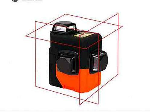 Лазерный уровень DEKO HV-LL12R 3D  (12 линий, красный)