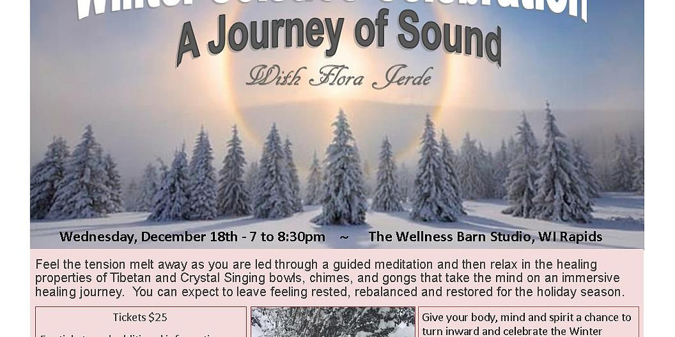 Guided Meditation with Journey of Sounds (Winter Celebration)
