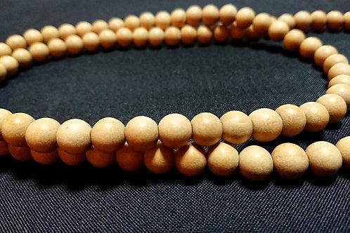 サンダルウッド[白檀] 数珠 / 定番サイズ