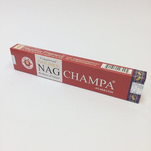 Golden Nag Champa wierook stokjes incense