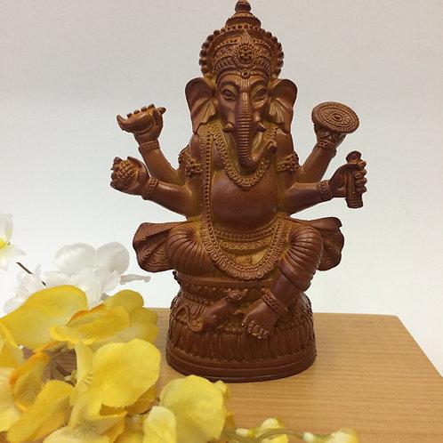 Ganesh bruin kunststof