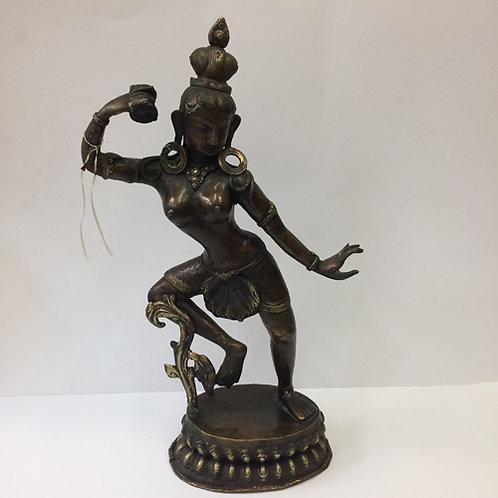 Cintamani beeld brons