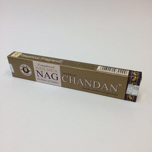 Golden Nag Chandan wierook stokjes