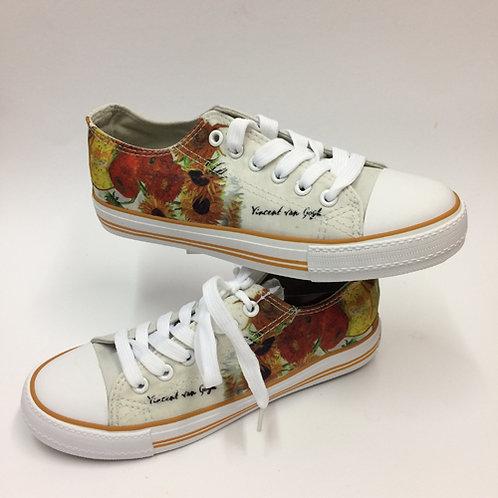 Sneakers Zonnebloemen