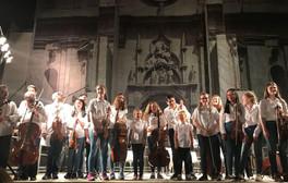 EMYO concert in Piazza San Nicola, Tolentino, Italy