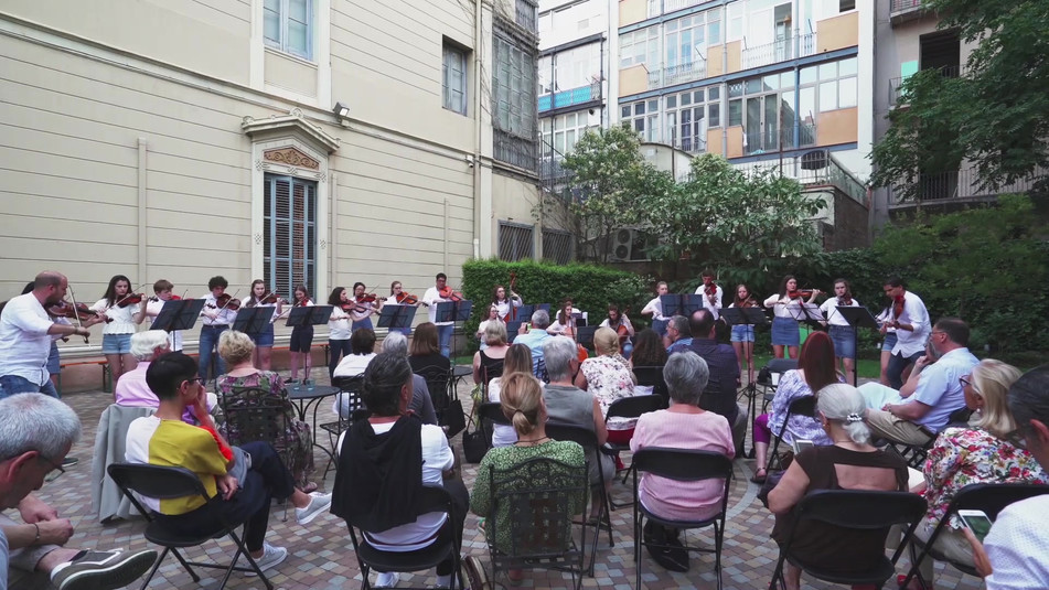 EMYO concert at the Institute of Italian Culture in Barcelona