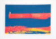 emile orange Diélette Acrylique, peinture aérosol, 60x 90 cm, 2014 Émile ORANGE