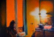 Emile orange interieur