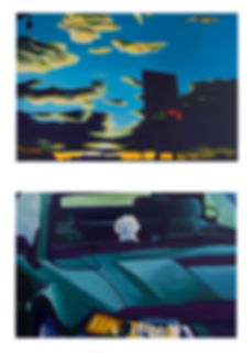 Emile orange scène chien