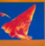 emile orange Aux monstres les plus gros Acrylique, peinture aérosol, 150x 150 cm Émile ORANGE