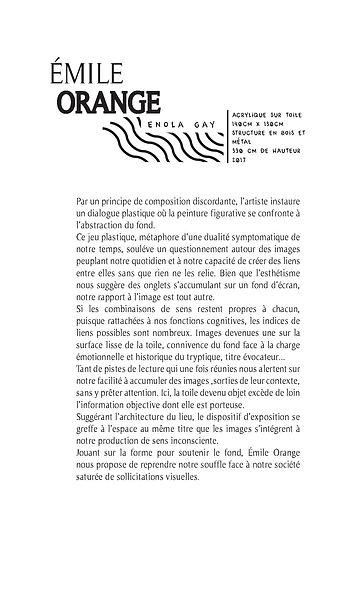 Enola Gay  Vue de l'exposition On s'écrit GOOD BYE, 102 ter Caen  © Jade RONAT-MALLIÉ