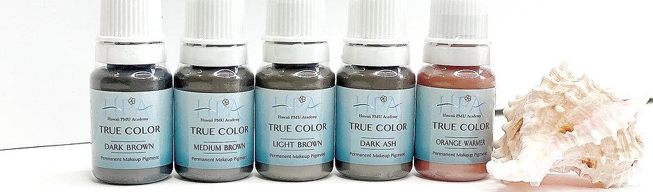 True Color Pigment  5 color set