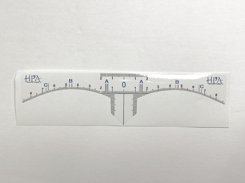 Disposable Brow Ruler Sticker type