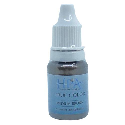 True Color 色素 ミディアムブラウン
