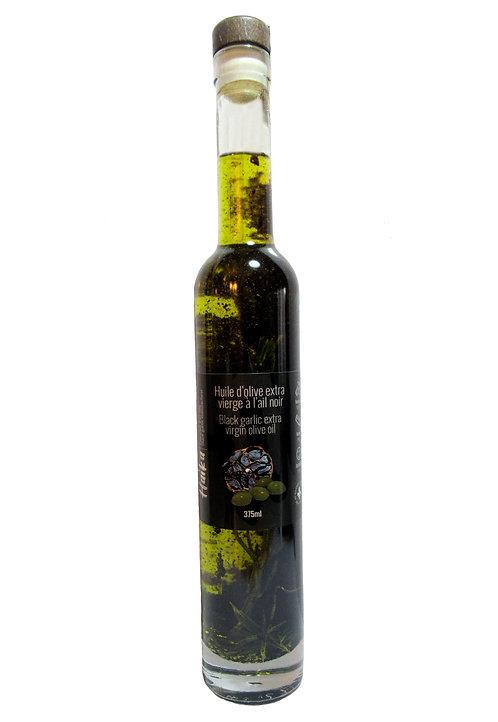Huile d'olive extra vierge à l'ail noir | Culture écologique et responsable