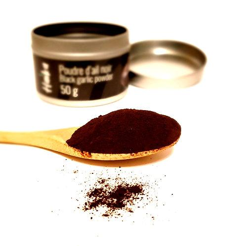 Poudre d'ail noir | Culture écologique et responsable