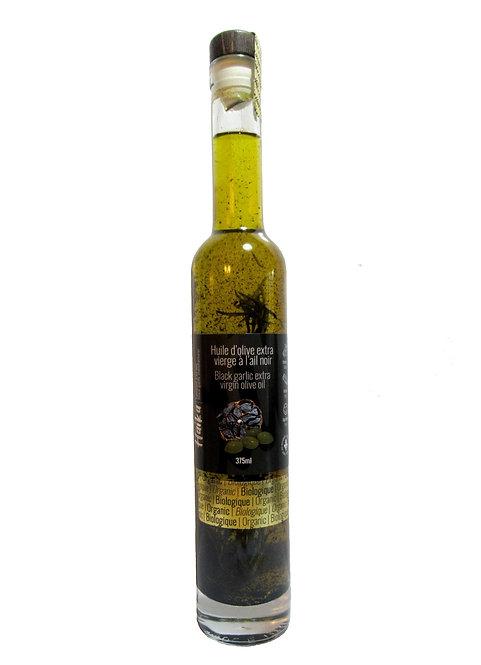 Huile d'olive extra vierge à l'ail noir BIO