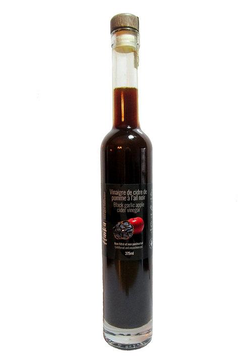 Vinaigre de cidre de pomme à l'ail noir