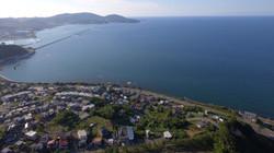 アートヒルズ望海の上空からの景観