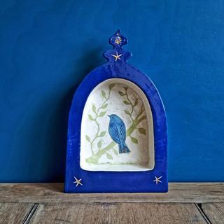 Bluebird shrine