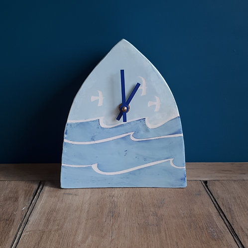 Sea and sky clock