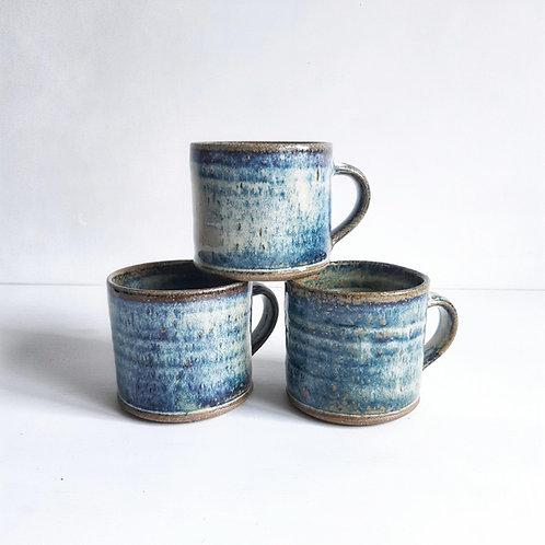 Coffee mug - chun glaze
