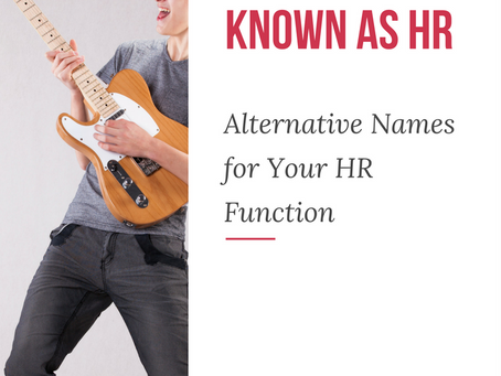 Does Your HR Department Need a New Name?