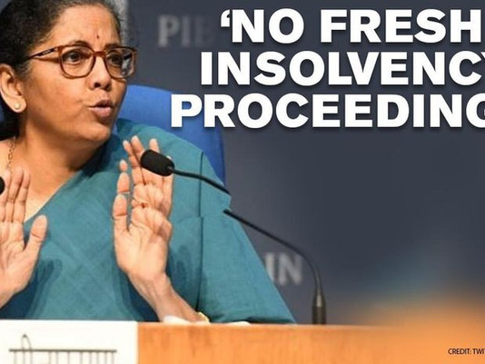 Suspension Of Insolvency Law! A limited period saviour.