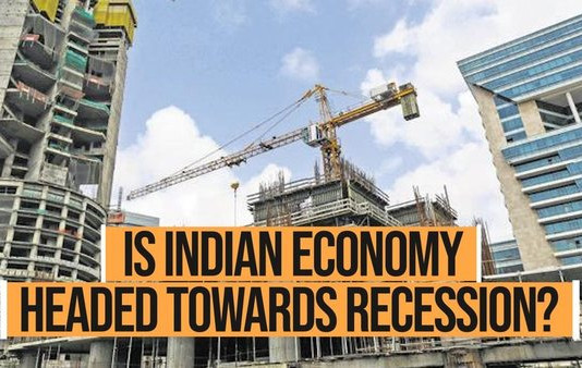 India is on recession?