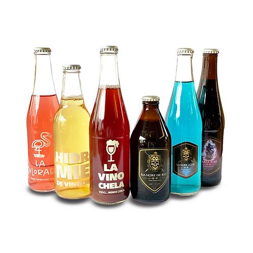 Six variado de Barley Wine segunda version