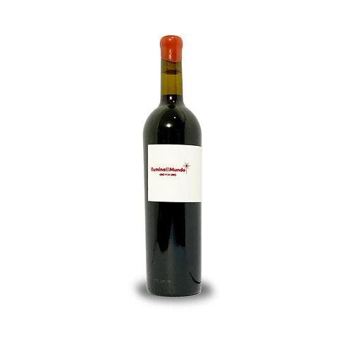 vino tinto ilumina el mundo